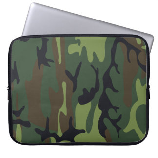 Military Camouflage Laptop Sleeve