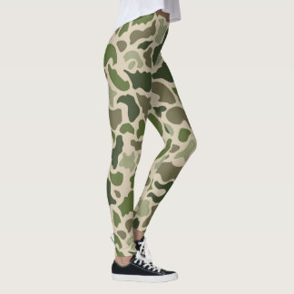 military camouflage leggings