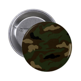 military camouflage pattern 2 inch round button