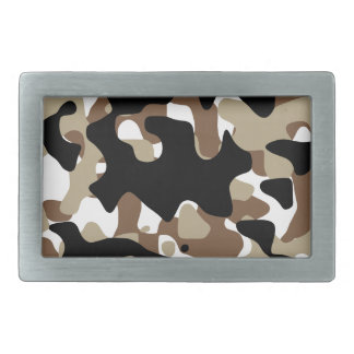 Military Camouflage Pattern Belt Buckle