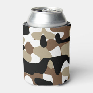 Military Camouflage Pattern Can Cooler