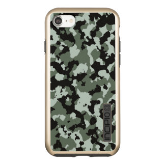 Military Camouflage Pattern | Green Camo Incipio DualPro Shine iPhone 8/7 Case