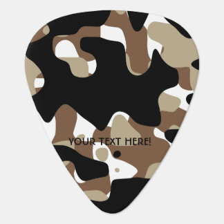Military Camouflage Pattern Guitar Pick