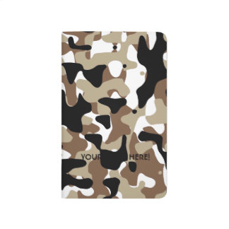 Military Camouflage Pattern Journal