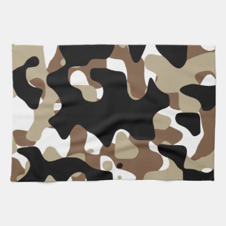 Military Camouflage Pattern Kitchen Towel
