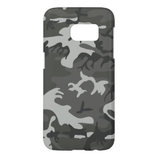 Military Camouflage Pattern, Urban Style, Larger Samsung Galaxy S7 Case