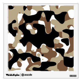 Military Camouflage Pattern Wall Decal