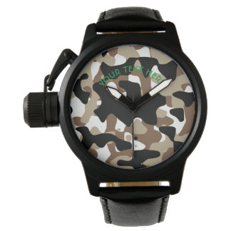 Military Camouflage Pattern Watch