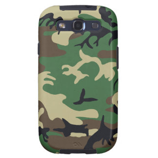 Military Camouflage Samsung Galaxy Case Samsung Galaxy SIII Case