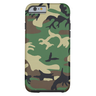 Military Camouflage Tough iPhone 6 Case