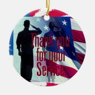 MILITARY CERAMIC ORNAMENT