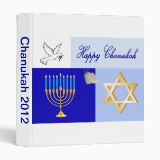 Military Chanukah Photo Album Binders