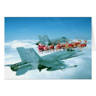 Military Christmas Heart Card