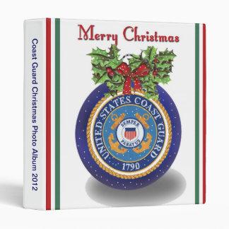 Military Coast Guard Christmas Photo Album Binder