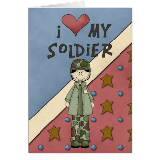 Military Collection Army Man Soldier Card