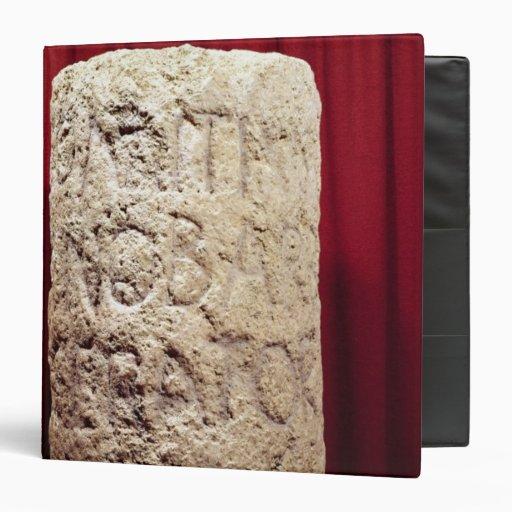 Military column of Domitius Ahenobarbus 3 Ring Binder