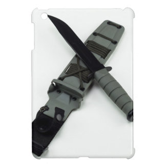 military combat knife cross pattern ka-bar style case for the iPad mini