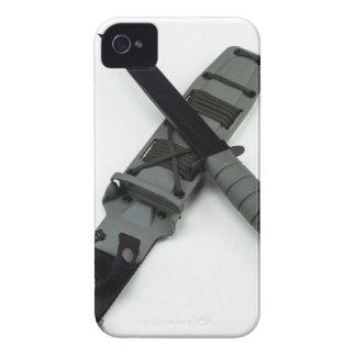 military combat knife cross pattern ka-bar style Case-Mate iPhone 4 case