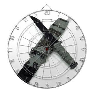 military combat knife cross pattern ka-bar style dartboard