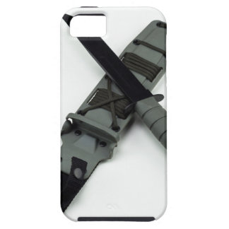 military combat knife cross pattern ka-bar style iPhone 5 case