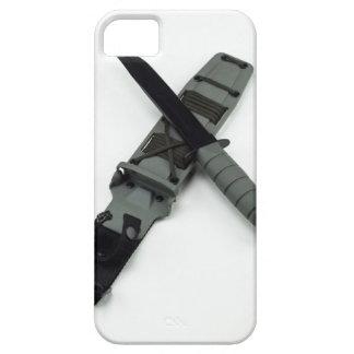 military combat knife cross pattern ka-bar style iPhone 5 case