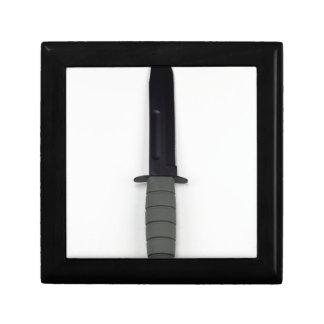 military combat knife vertical  ka-bar style gift box