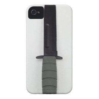 military combat knife vertical  ka-bar style iPhone 4 Case-Mate case
