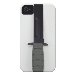 military combat knife vertical  ka-bar style iPhone 4 covers