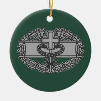 Military Combat Medical Badge Ceramic Ornament