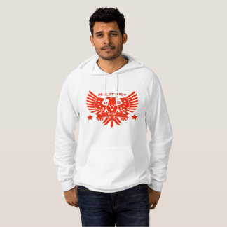 MILITARY DAD_red design Hoodie