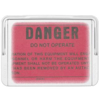 Military Danger Tag Cooler