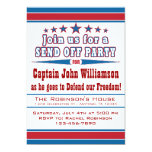 Military Deployment Send Off Party Invitation