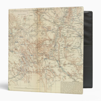 Military Dept New Mexico Vinyl Binder