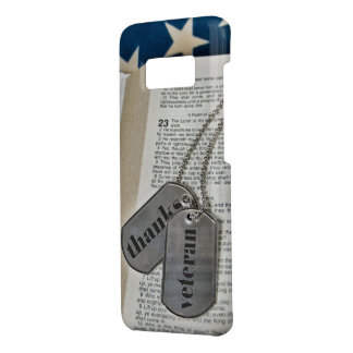 military dog tags on Bible Case-Mate Samsung Galaxy S8 Case