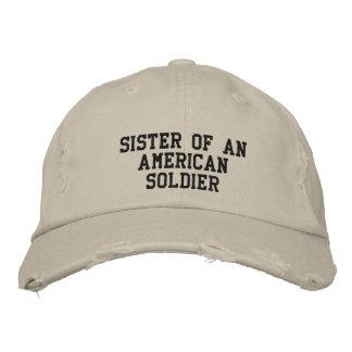 military embroidered baseball caps