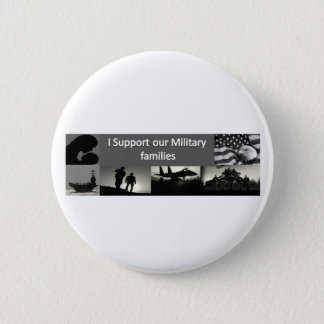 Military Families 2 Inch Round Button