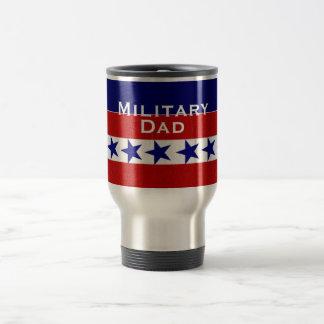 Military Family Dad Custom Personalized Travel Mug