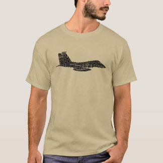 Military Fighter Jet Phonetic Alphabet T-Shirt
