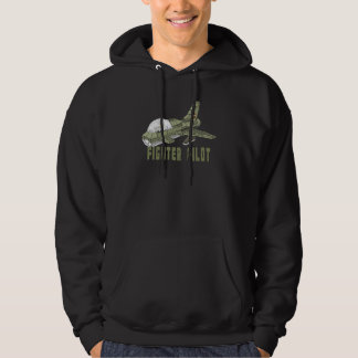 Military Fighter Plane Hoodie