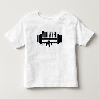Military Fit kids Toddler T-shirt