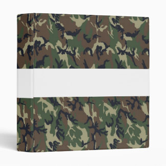 Military Forest Camouflage Background Binders
