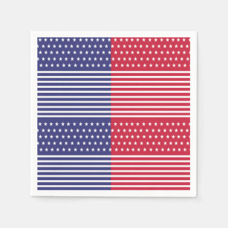 Military Gathering Veterans Day Party Paper Napkin