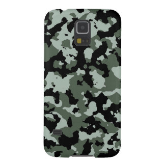 Military Green Camouflage Pattern Galaxy S5 Covers