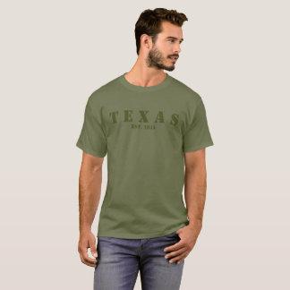Military Green Texas Est. 1845 T-Shirt