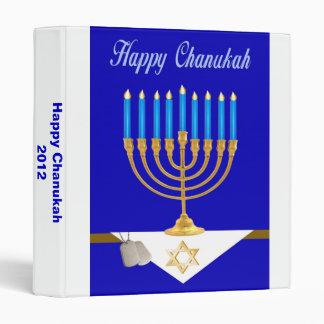Military Happy Chanukah Photo Album 3 Ring Binder