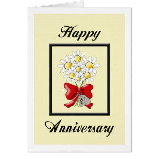 Military Happy Wedding Anniversary Card