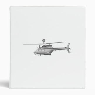 Military Helicopter Binder
