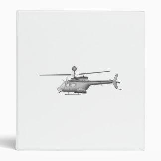 Military Helicopter Vinyl Binders