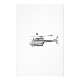Military Helicopter Stationery