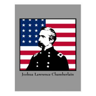 Military Hero - J.L. Chamberlain Post Card